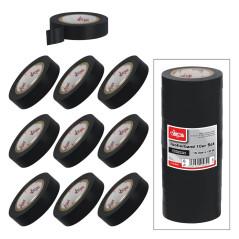 Izolačná páska 15 mmx10 m, 10 ks, čierna