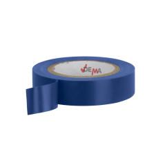 DEMA Elektrikárska izolačná páska 15mm / 10 m, modrá, 10 ks