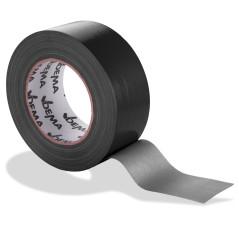 DEMA Tkaninová lepiaca páska 50 mm / 50 m, čierna