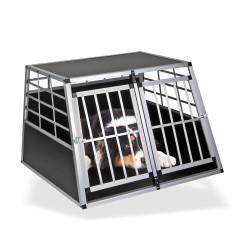 DEMA Prepravná klietka pre psov do auta 105x91x69 cm Balu
