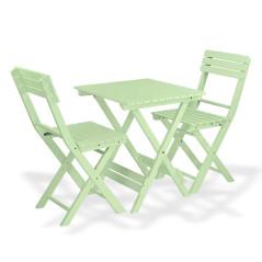 DEMA Záhradný nábytok Sanremo, svetlo-zelený