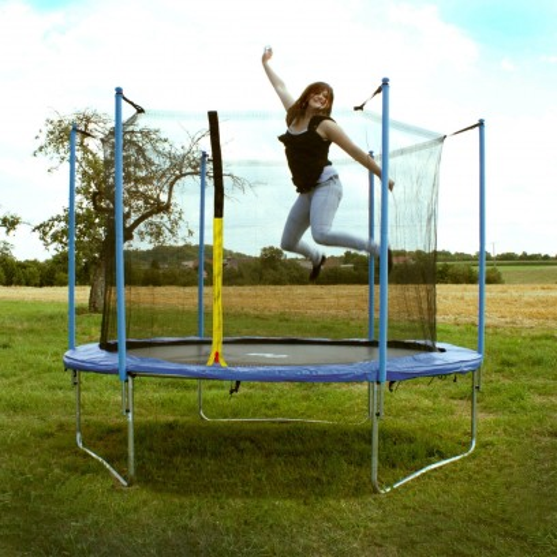 DEMA Záhradná trampolína so sieťou XL 305 cm
