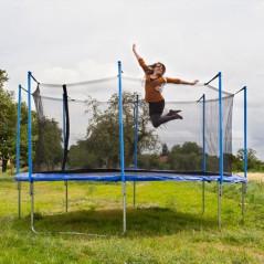 Záhradná trampolína so sieťou 366 cm