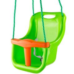 DEMA Detská hojdačka 3v1, zelená
