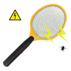 DEMA Elektrická mucholapka na hmyz, žltá