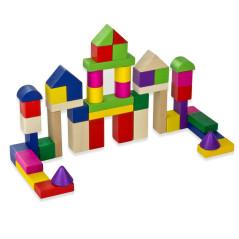 DEMA Drevená stavebnica pre deti 120 ks