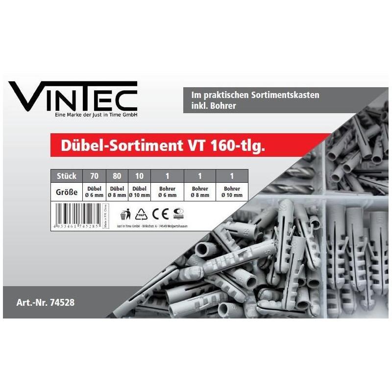 Hmoždinky s vrtákmi Vintec VT163