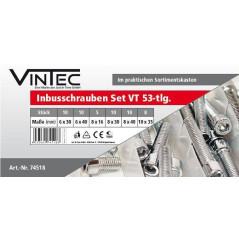Skrutky s valcovou hlavou imbus Vintec VT53