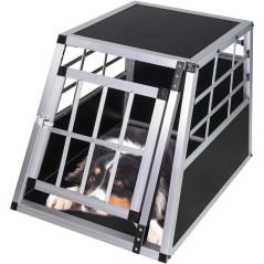 DEMA Prepravná klietka pre psa do auta 54x69x51 cm Waldi 1
