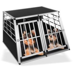DEMA Prepravná klietka pre psov do auta 105x91x69 cm Bello 2