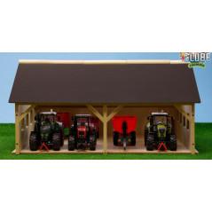 Drevená stodola pre traktory 1:32