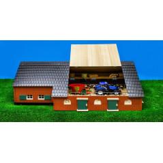 Farmársky dom s hospodárskou budovou 1:32 Kids Globe