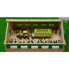 Drevená maštaľ pre kravičky 1:87 Kids Globe
