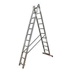 Krause Hliníkový rebrík výsuvný 2x11 Corda