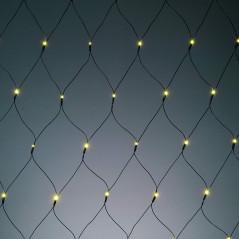 Hellum Svetelná sieť LED s časovačom a svetelným senzorom 80x160 cm