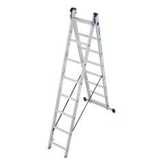 Krause Hliníkový rebrík výsuvný 2 x 8 Corda