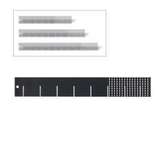 DEMA Univerzálna deliaca prepážka do zásuvky 40 cm