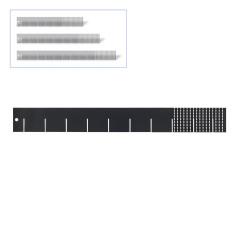 DEMA Univerzálna deliaca prepážka do zásuvky 50 cm