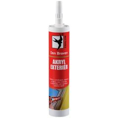 Den Braven Tmel akryl exteriér 310 ml, biely
