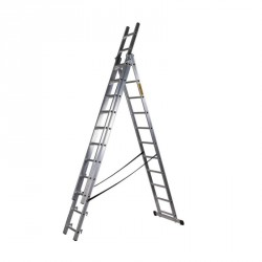 DRABEST Profi hliníkový rebrík DW3-10