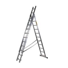 Hliníkový rebrík PROFI DW3-12