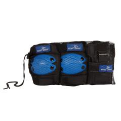 Chrániče modré, veľkosť M, 6-dielna súprava