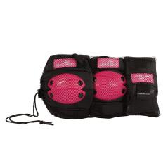 Chrániče ružové veľkosť S, 6-dielna súprava