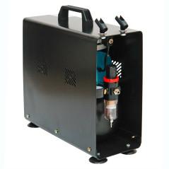DEMA Profi airbrush kompresor, dvojpiestový