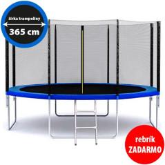 Green Light Záhradná trampolína 365 cm / 12 ft s rebríkom