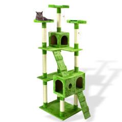 DEMA Škrabadlo pre mačky 180 cm, zelené