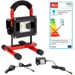 DEMA Akumulátorové LED pracovné svetlo / reflektor LAK10