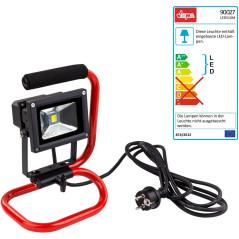 DEMA Prenosný LED stavebný reflektor 10 W
