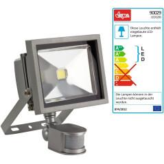 DEMA LED reflektor 20 W s detektorom pohybu