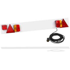 DEMA Koncové svetlá na príves s hmlovým svetlom 122 cm