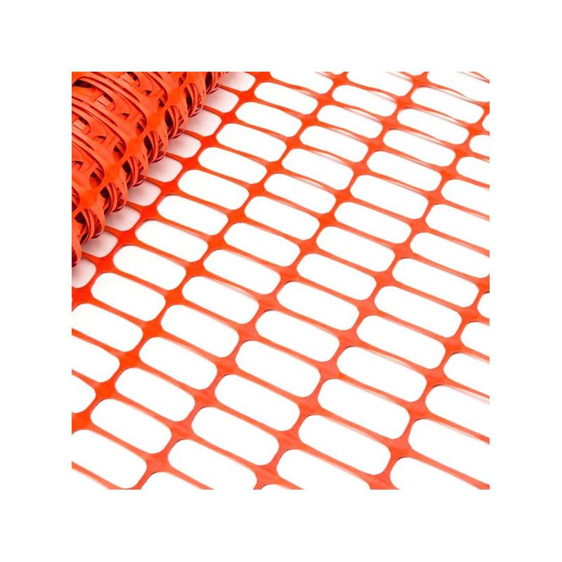 DEMA Bezpečnostný stavebný plot 50x1 m, oranžový