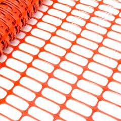 DEMA Bezpečnostný stavebný plot 30x1 m, oranžový