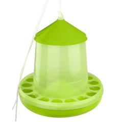 MenaVET Kŕmny automat pre hydinu plastový 4 kg, zelený