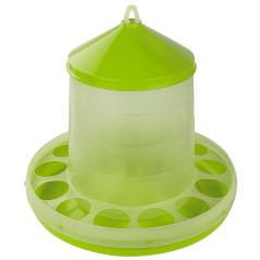 MenaVET Kŕmny automat pre hydinu plastový 12 kg, zelený