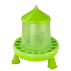 MenaVET Kŕmny automat pre hydinu na nožičkách plastový 4 kg, zelený