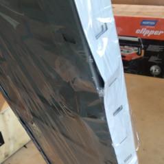 DEMA Bezskrutkový kovový regál 4P 50 kg 150x75x30 cm, biely