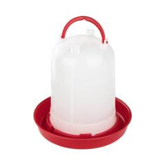 MenaVET Napájadlo pre hydinu plastové 3 l, červené