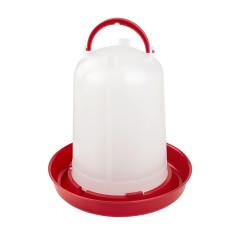 MenaVET Napájadlo pre hydinu plastové 5 l, červené