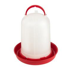 MenaVET Napájadlo pre hydinu plastové 8 l, červené