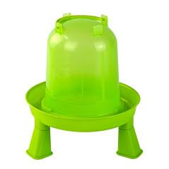 MenaVET Napájadlo pre hydinu s nožičkami plastové 1,5 l, zelené