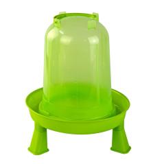 MenaVET Napájadlo pre hydinu s nožičkami plastové 3 l, zelené