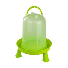 MenaVET Napájadlo pre hydinu s nožičkami plastové 8 l, zelené