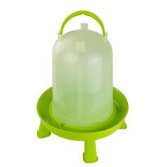 MenaVET Napájadlo pre hydinu s nožičkami plastové 10 l, zelené