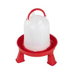 MenaVET Napájadlo pre hydinu s nožičkami plastové 1,5 l, červené