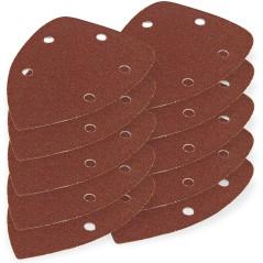 DEMA Brúsny papier pre delta brúsku 95x138 mm K60, 10 ks