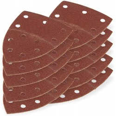DEMA Brúsny papier pre delta brúsku 102x152 mm K60, 10 ks